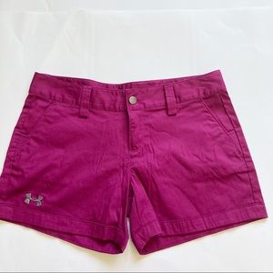 Under Armour Women's Inlet Shorts Sz 4
